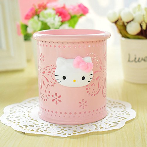 8c50ed103 YOURNELO Cute Hello Kitty Hollow-Out Pen Pencil Holder Desk Organizer  Accessories (Pink Butterfly) - Buy Online in Oman. | Office Product  Products in Oman ...