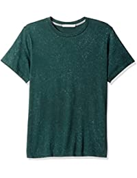 Alternative Men's Organic Pima with Denim Wash Perfect Crew