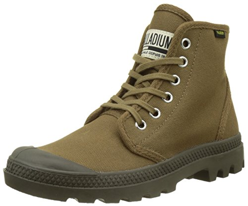 Palladium Men's Pampa Hi Originale Chukka Boot,Butternut/Tarmac,8.5 M US