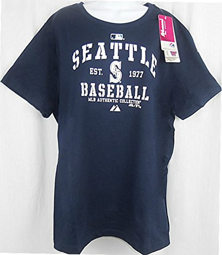 Majestic Seattle Mariners MLB Authentic Women