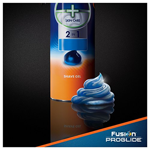 Fusion ProGlide Sensitive Ocean Breeze Shave Gel Twin Pack, 12 oz