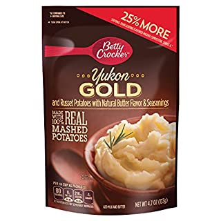 Betty Crocker Country Style Yukon Gold Potatoes 4.7 oz Pouch (pack of 7)