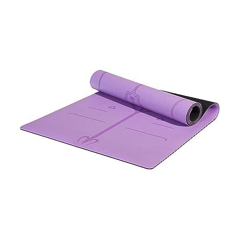 CCET Colchoneta de yoga antideslizante - 5 mm de grosor ...