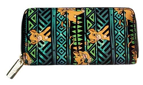 Lion King Simba Zip Around Clutch Wallet