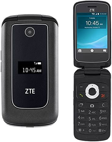 Amazon.com: ZTE Cymbal Z-320 Flip Phone UNLOCKED (T-Mobile)