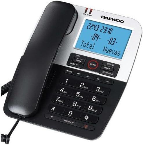 Daewoo DTC 410 - Teléfono Fijo Digital: Amazon.es: Electrónica