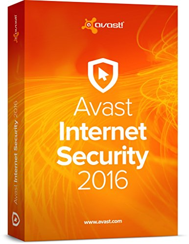 AVAST Internet Security for 2016 (10 Users/PCs) - 2 Years Protection