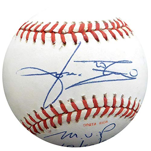 Jose Rijo Autographed Official 1990 World Series Baseball Cincinnati Reds