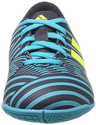 adidas Nemeziz 17.4 In J, Zapatillas de Fútbol Sala Unisex Niños Azul (Tinley/Amasol/Azuene)
