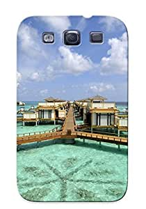 New Maldives Resort Tpu Case Cover, Anti-scratch FeXbjZY378KzXlo Phone Case For Galaxy S3 With Design by lolosakes