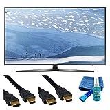UN55KU7000 55-Inch 4K Ultra HD Smart LED TV (2016 Model) - Set Up Bundle