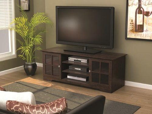 Z-Link ZL621060SU TV Stand for 60-Inch TV, Wood