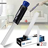 #6: TangN Vacuum Dust Pro Cleaner Universal Attachment Dust Brush Vacuum Tubes Attachment Dust Remover Cleaning Tools for Vents,Keyboards,Drawers,Car,Tools,Crafts,Jewelry,Plants,Rattan