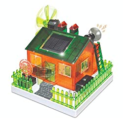 WeGetDone Build Your Own Solar Eco Home Kit for Science Project - Craft for Kids Toys for 8+