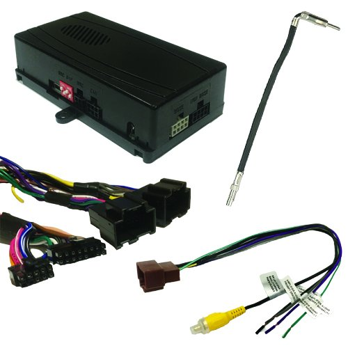 Crux SOOGM-16 Radio Replacement Interface to retain OnStar, Factory Warning Chime features and Steering Wheel Control functionality for select GM LAN 29-Bit vehicles with Bose Amplified & Non-Amplified Systems (2006-2014)