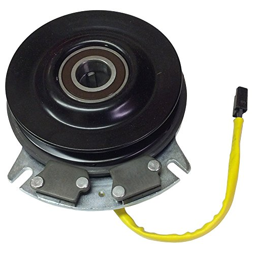 (Electric PTO Clutch For Warner 5218-36 Shaft Size 1 1/8 Belt Type A/B Pulley Diameter 6 inch Torque)