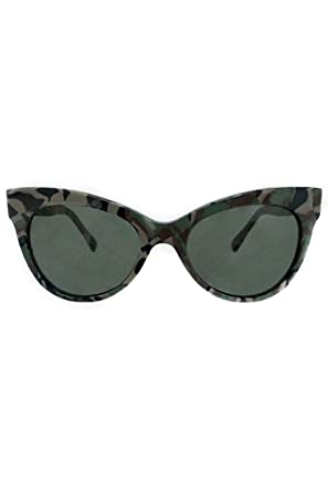 8d9ac1249484 Norma Kamali - Square Cat Eye Sunglasses - Camo - OS at Amazon Women s  Clothing store