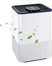 Purificatore d'Aria con 4 Strato di Filtrazione, 4 modalità di Purificazione, con Timer e Generatore di Ioni, Rimuovere la Polvere, PM2.5, Formaldeide, Odore, Perfetto per la Famiglia e l'Ufficio