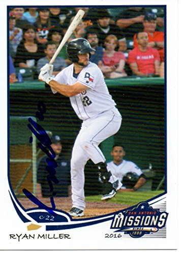 Ryan Miller 2016 San Antonio Missions Signed Card ()