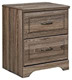 Ashley Furniture Signature Design - Javarin Youth Nightstand - Contemporary Children's Bedroom End Table - Grayish Brown