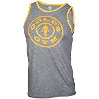 Golds Gym Muscle Joe Contrast Athlete Tank