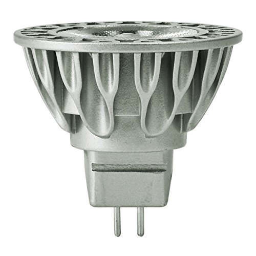 Bulbrite SM16-09-36D-830-03 SORAA 9W LED MR16 3000K BRILLIANT 36° Dimmable Light Bulb, Silver