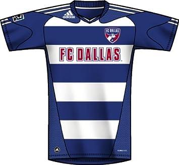 Adidas MLS FC Dallas Replica Away Jersey, Hombre, P55214, Collegiate Royal, White