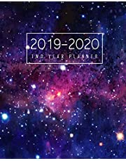 2019-2020 Two Year Planner: 24 Months Calendar January 2019 to December 2020 Planner Monthly Schedule Organizer Academic Agenda Appointment 2 Year Notebook