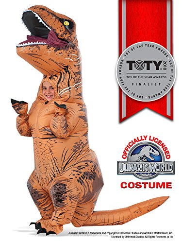Rubie's Costume Jurassic World Child's T-Rex Inflatable Costume with Sound, Multicolor]()