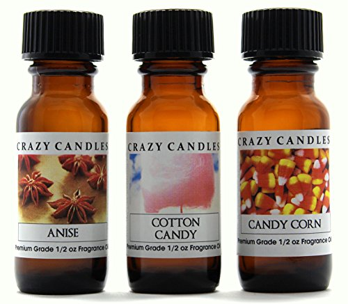 Crazy Candles 3 Bottles Set 1 Anise, 1