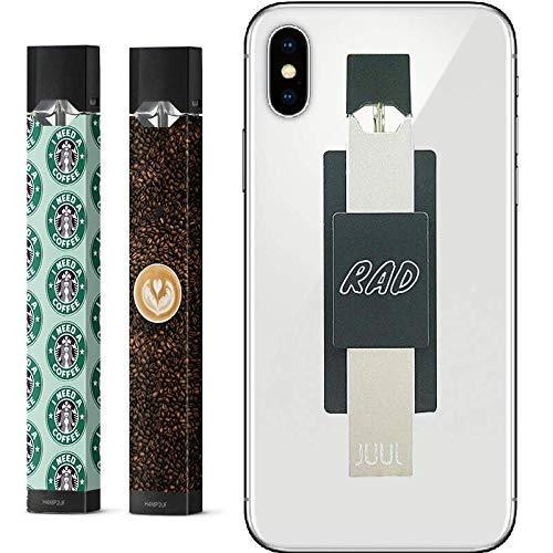 3 Pack | Coffee Lover JUUL Skin|JUUL Phone CASE Holder |Decal|Sticker|Vinyl| Juul Vape Protector Bundle Set RADskins