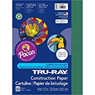 Pacon Tru-Ray Construction Paper, 9in. x 12in., Dark Green