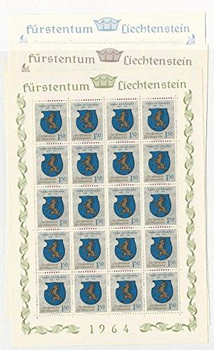 Liechtenstein, Postage Stamp, 386-389 Mint NH Sheets, ()