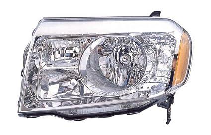 Amazon Com 2009 2010 2011 Honda Pilot Headlight Headlamp Composite