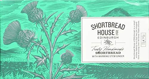 Shortbread House of Edinburgh's Stem Ginger Shortbread Fingers