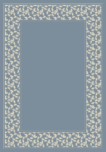 Rug 2706 (Milliken 8485/2706 Design Center Ivy League Light Lapis Rug Size: 3'10