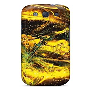 Cute Tpu ShirleyAFields Colorful Effects Of Glass Shards Case Cover For Galaxy S3