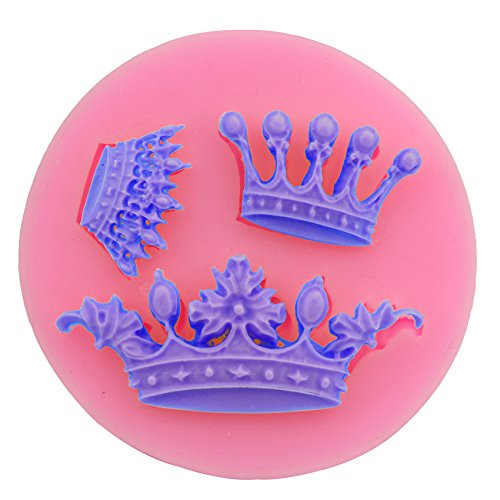 Diy Crown Royal Costume (Let'S Diy Mini Royal Crown Shape Baking Mold Fondant Cake Tool Chocolate Candy Cookies Pastry Soap Moulds)