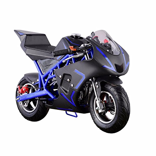 XtremepowerUS 4 Stroke Pocket Motorcycle Certificated