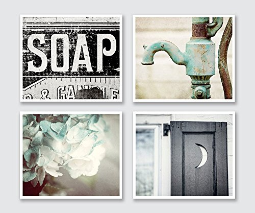 Bathroom Decor Set of 4 Photographs - 20%