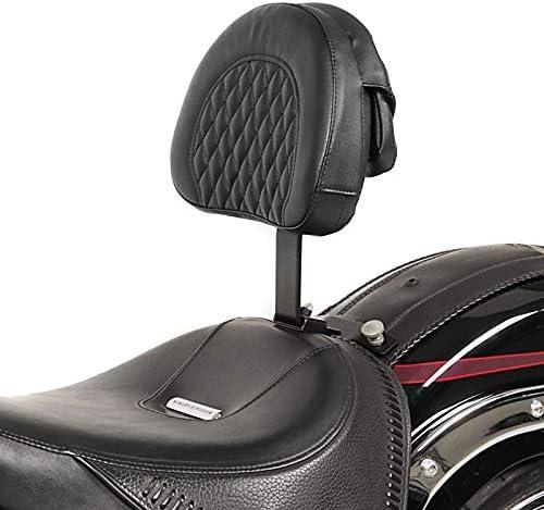 Fahrer Rückenlehne Diamond Kompatibel Für Harley Softail Deluxe 07 17 Auto
