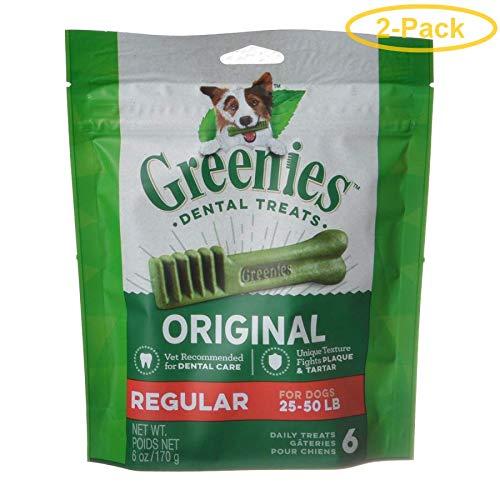 Greenies Treats for DogsMini Treat-Pak-Regular 6 oz