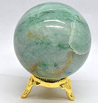 Natural Blue Fire Labradorite Metaphysical Healing Crystal Polished Sphere Ball Mineral Feng Shui Chakra Aura Balance Stone (Labradorite 40mm) Healing Crystals India LBRB4