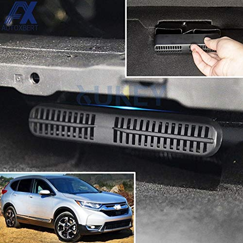 Vivona AX 2Pcs For Honda CRV CR-V MK5 2017 2018 Under Seat Floor Rear AC Heater Air Conditioner Duct Vent Protective Cover Grill Grille