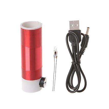 Amazon com: jiangmener Tesla Coil Kit of Mini Model USB 5V Power