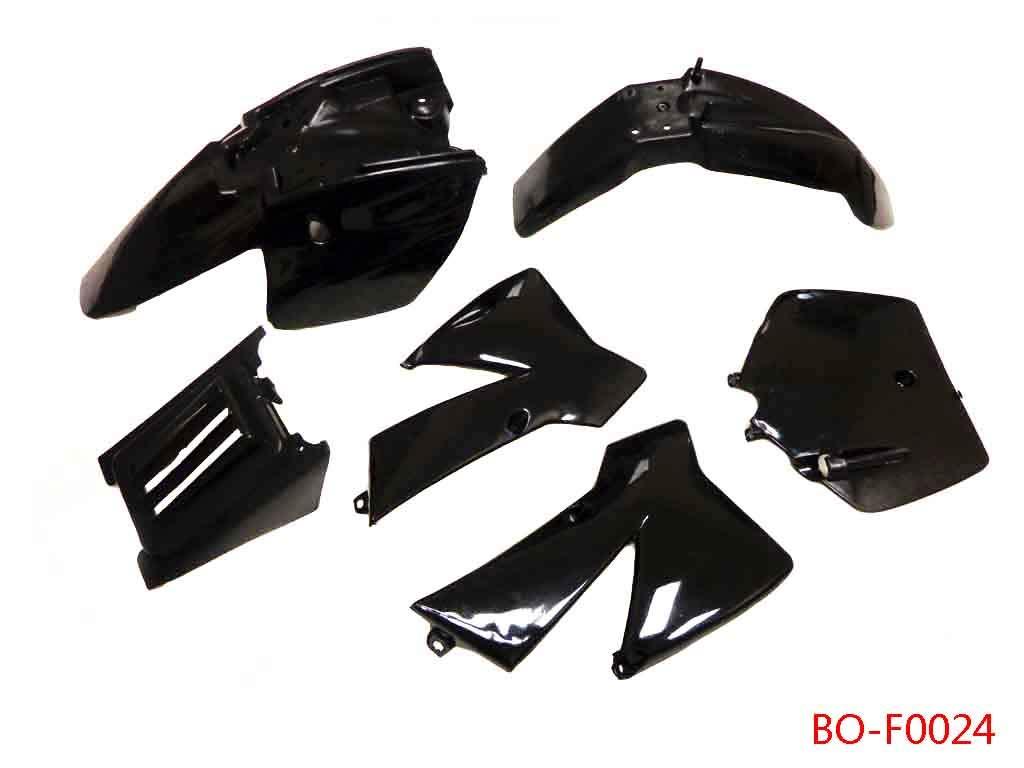Plastic Fairing Fender Kit for KTM 50 SX 50 Junior 50cc SX (Black) by Kids ATV Parts (Image #2)