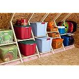 AtticMaxx Shelving System - Set of 8 Attic Truss Storage Shelves