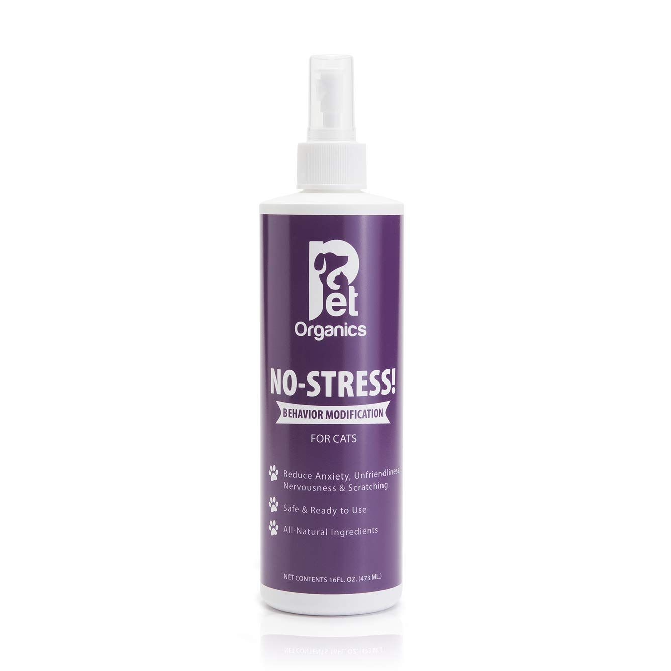 Pet Organics No-Stress Spray for Cats by Pet Organics