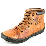 Richfield Rado Hermes Mens Genuine Leather Tan Trendy Boots UK 6