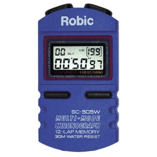 Robic Sc-505W 12mémoire Chronomètre